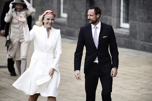 Norwegian Crown Prince Haakon and Crown Princess Mette-Marit
