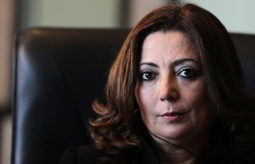 Tunisian National Dialogue Quartet member Wided Bouchamaoui in Tunis
