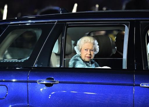 Britain's Queen Elizabeth II 90th birthday celebrations at Windsor Castle