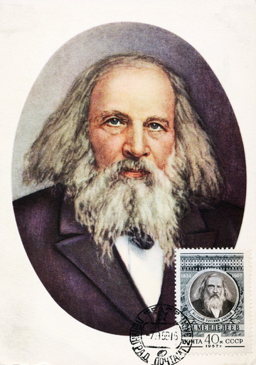 Dmitri Mendeleyev, Russian chemist