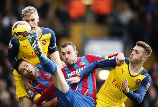 Crystal Palace v Arsenal - Barclays Premier League