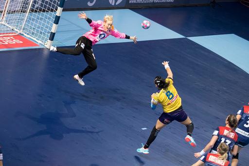 2018 EM-sluttspill h¬ndball kvinner i Frankrike. Norge-Romania.