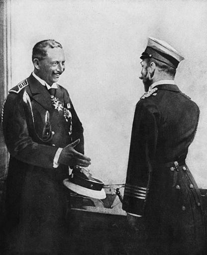 Kaiser Wilhelm II and Tsar Nicholas II