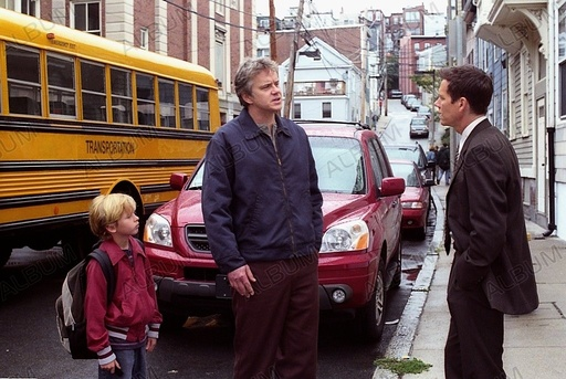 MYSTIC RIVER (2003), directed by CLINT EASTWOOD. BOSTON; KEVIN BACON; TIM ROBBINS; CAYDEN BOYD.