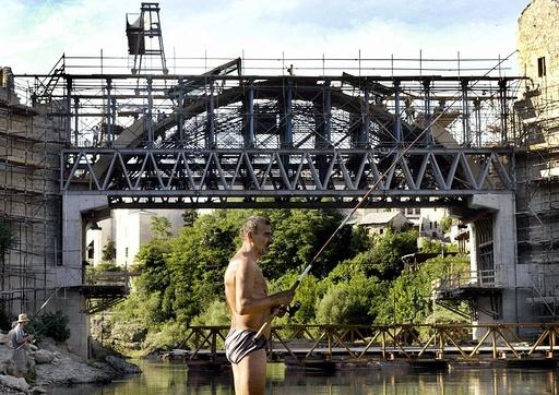 BOSNIA-MOSTAR- BRIDGE