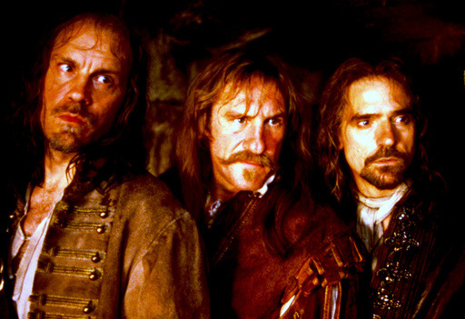 MAN IN THE IRON MASK,  John Malkovich, Gerard Depardieu, Jeremy Irons, 1998