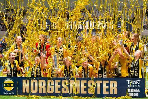 CUPFINALE KVINNER 2018 LILLESTRØM SK - SANDVIKEN IL (4-0)
