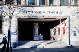 En mann i 70-årene fra Trondheim er tiltalt for ett fysisk overgrep og flere nettovergrep mot to jenter i 13-14-årsalderen. Rettssaken starter mandag. Foto: Ole Martin Wold / NTB
