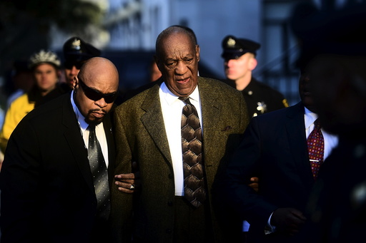 Actor and comedian Bill Cosby arrives for a preliminary hearing on sexual assault charges at the Montgomery County Courthouse in Norristown, Pennsylvania