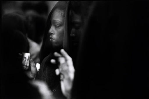 USA. New York. DIALLO protest/ Women in mourning.