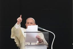 Pave Frans kommenterte søndag drapene på Kongsberg. Arkivfoto: AP / NTB