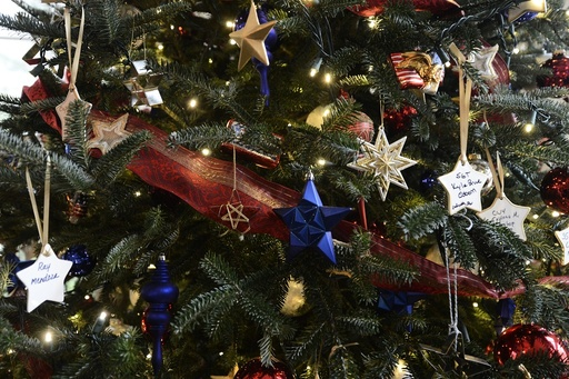 Holiday decorations at the White House