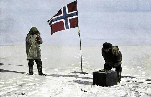 - - Roald Amundsen au pôle Sud