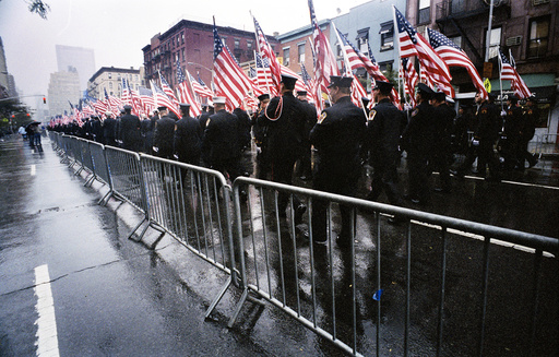 USA. NYC. NYFD Annual Memorial Parade Dedicated to WTC 9/11 Firefighters.