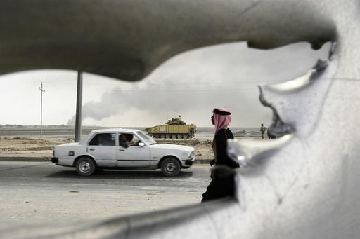 IRAQ. Basra. 2003.