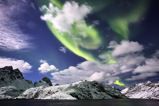 Aurora Borealis, Moskenesøya