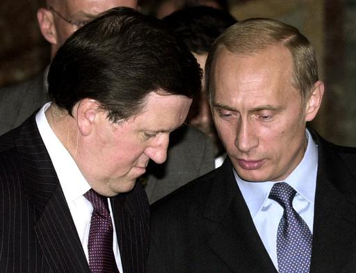 NATO SECRETARY GENERAL ROBERTSON TALKS WITH RUSSIAN PRESIDENT PUTIN IN BRUSSELS