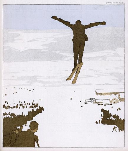 SKI JUMP 1910