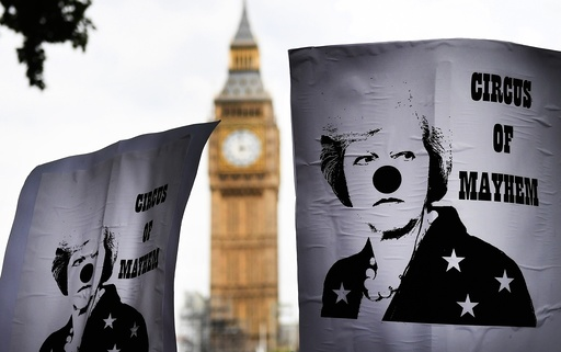 Anti austerity protest in London