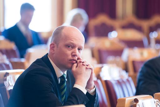 Ulvedebatt i Stortinget.