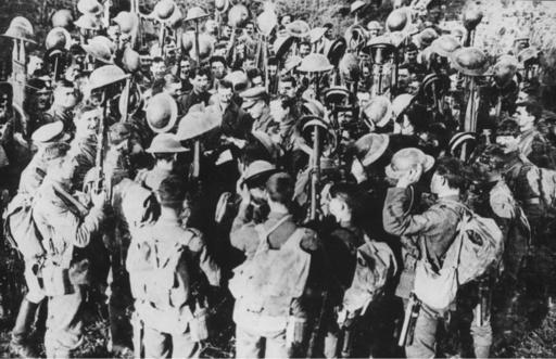 Slutten på den første verdenskrig 1914-18