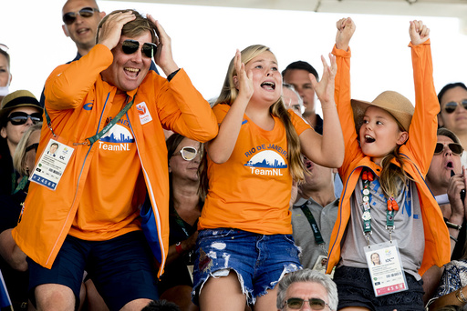Royal family of the Netherlands attend the Equestrian Jumping individual final - Rio