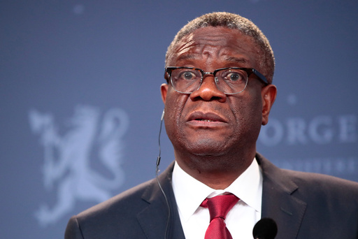 Nobels fredspris 2018 til Nadia Murad og Denis Mukwege.