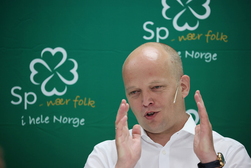 Oslo 20200625.  Partileder Trygve Slagsvold under Senterpartiet pressekonferanse. Foto: Ørn E. Borgen / NTB scanpix