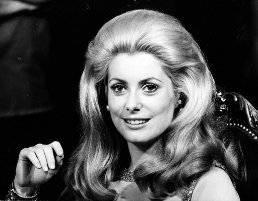 Actress Catherine Deneuve 1943 -