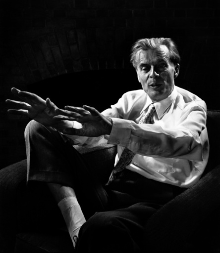 Aldous Huxley, writer.