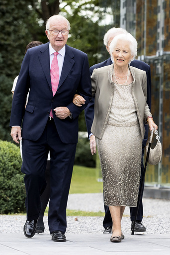 Queen Paola celebrates 80th birthday