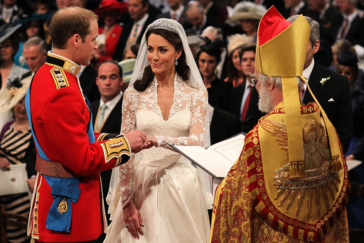 Prince William, Kate Middleton, Archbishop of Canterbury