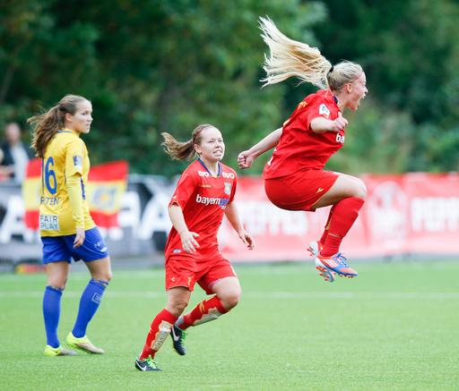 NM kvinner fotball. Røa - Trondheims-Ørn 4-2