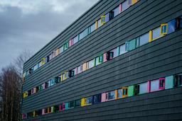 Dette hotellet ved Oslo lufthavn brukes som karantenehotell. Foto: Stian Lysberg Solum / NTB