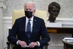 President Joe Biden i Det hvite hus. Foto: Evan Vucci / AP / NTB