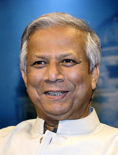 Muhammad Yunus in German TV talk show