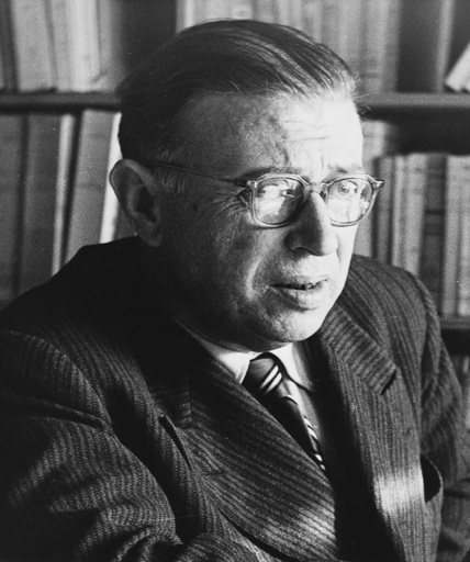 Sartre / Foto um 1960 - Sartre / Photo c. 1960 - Sartre / Photo vers 1960