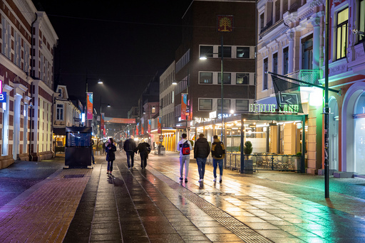 Kristiansand kommune har påvist det som er ett av de største smitteutbruddene i byen. Foto: Tor Erik Schrøder / NTB