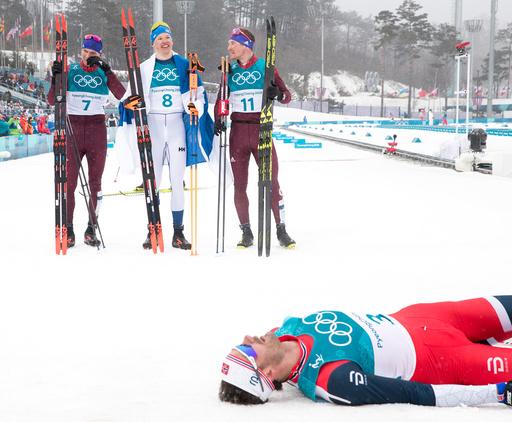 Vinter-OL. Olympiske leker i Pyeongchang 2018. Langrenn menn