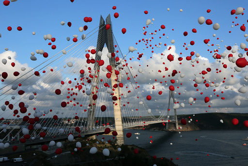 Bosphorus Third Bridge Opening - istanbul