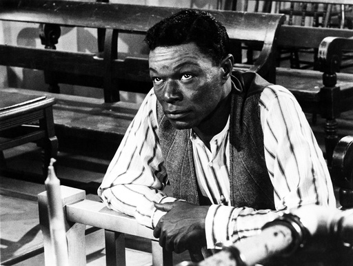 NAT 'KING' COLE, in the film 'St. Louis Blues', 1958