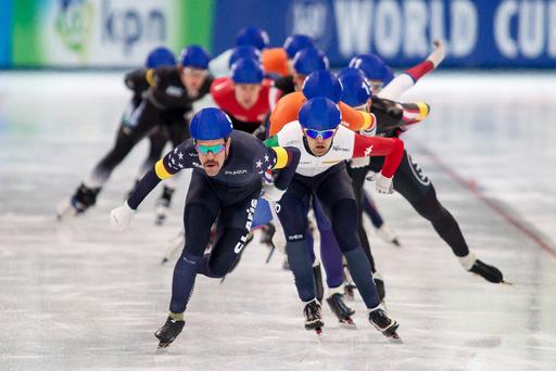 World cup speed skating i Stavanger.