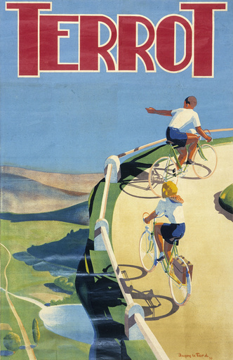 Poster advertising Terrot bicycles