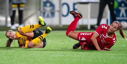 Fotball kvinner Champions League LSK - Brøndby.