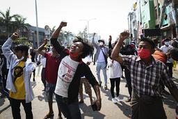 Voldsbruken i Myanmar har eskalert de siste dagene. Foto: AP / NTB