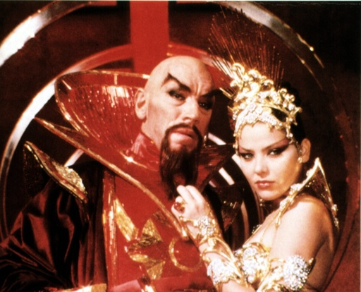 FLASH GORDON, Max Von Sydow, Ornella Muti, 1980, (c) Universal/courtesy Everett Collection