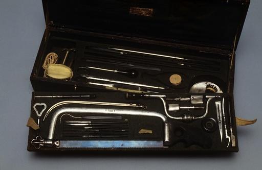 General surgery set, circa 1860
