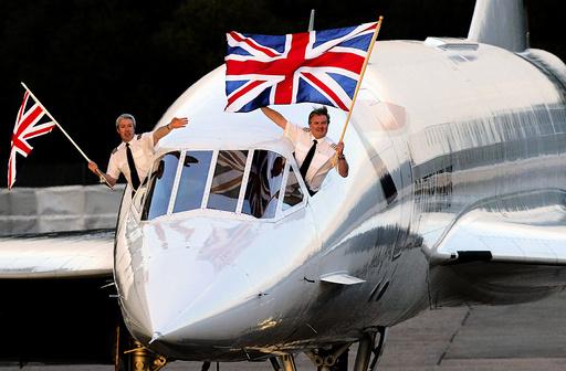 BRITAIN - CONCORDE FINAL FLIGHT