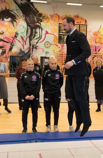 Kronprins Haakon åpner Unginvest på Gol