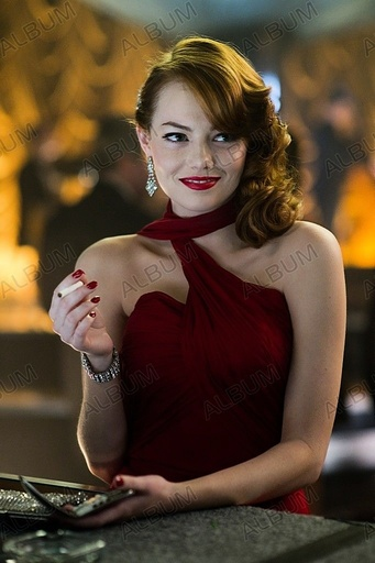 GANGSTER SQUAD (2013), directed by RICHARD FLEISCHER. EMMA STONE.